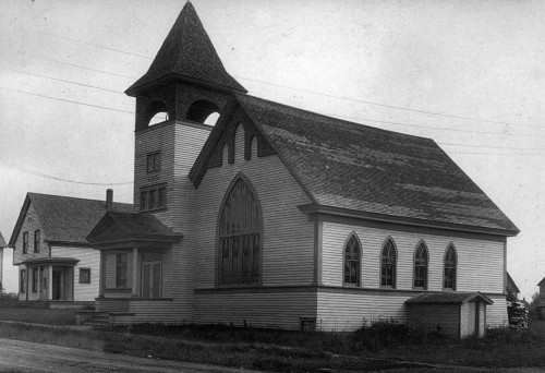 First Presbyterian Church of Pickford in 1902
